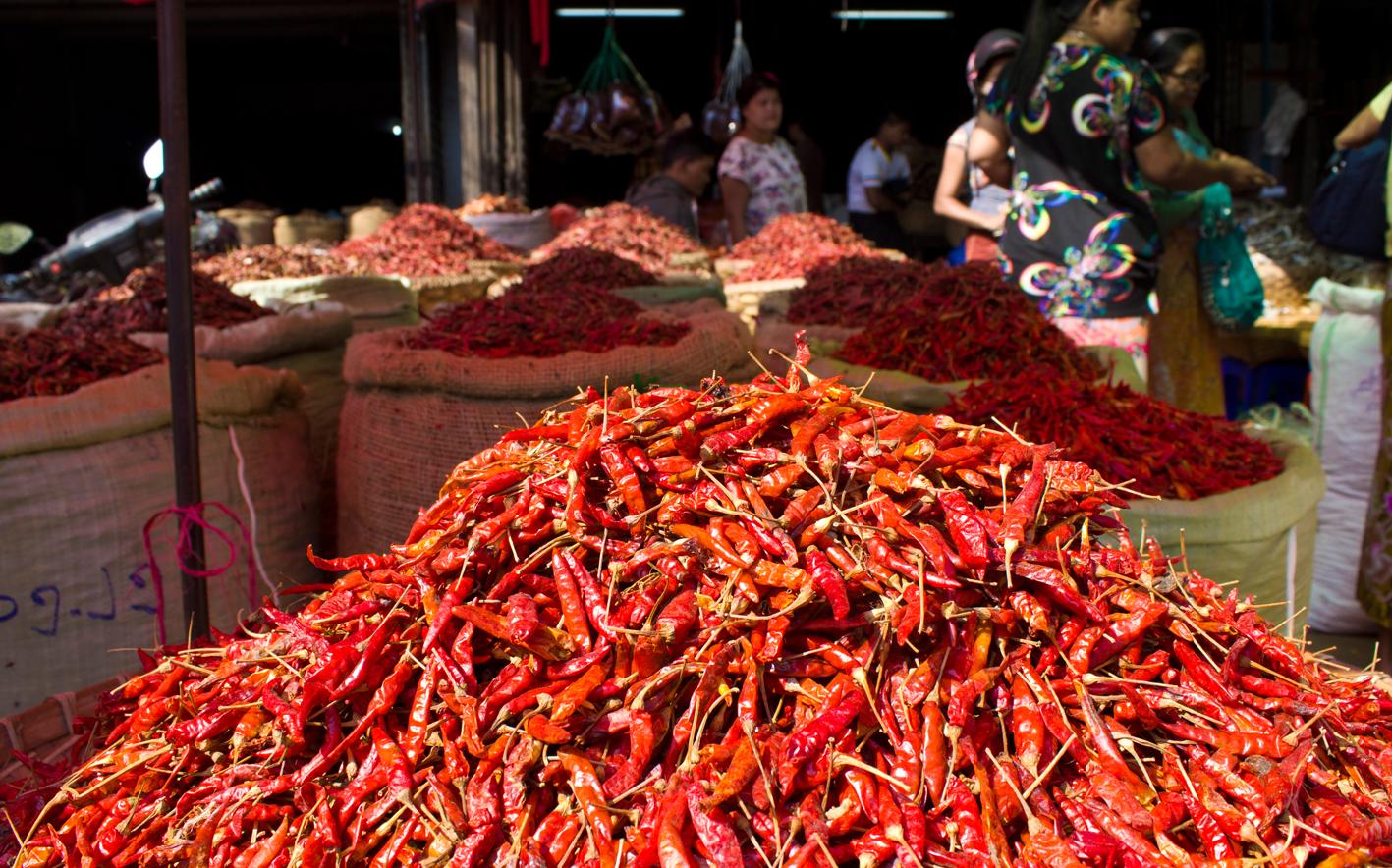 Market in Mandalay, Myanmar (Burma)