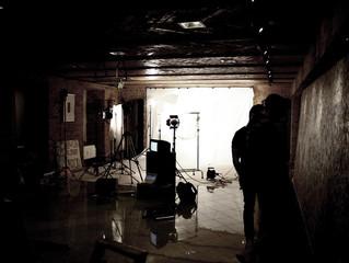 """Zeitsprung: Ein Blick hinter die Kulissen des  Musikvideo-Drehs von """"I'm not a Band – Time on Fi"""