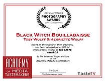 Gewinner des The Taste Awards in der Kategorie Food Photography, Toby Wulff Food Fotograf Berlin