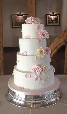 4 Tier Petals Cake