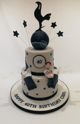 Tottenham Football Cake