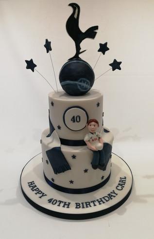 Tottenham Football Cake