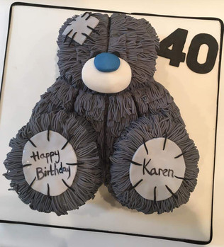 Me to You 40th Birthday Cake