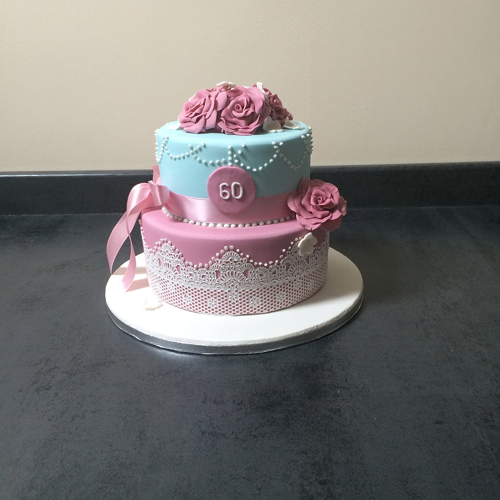 How to make a 2 tier 50th birthday cake Sweets photos blog