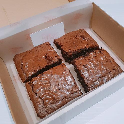 Box of 4 Brownies