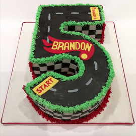 Number 5 Cake