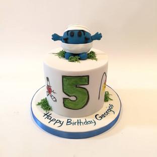 Mr Bump Cake
