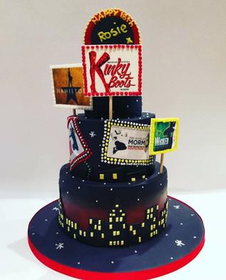 3 Tier Theatre Cake