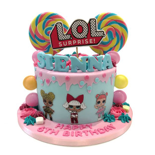 LOL Lollipop Cake