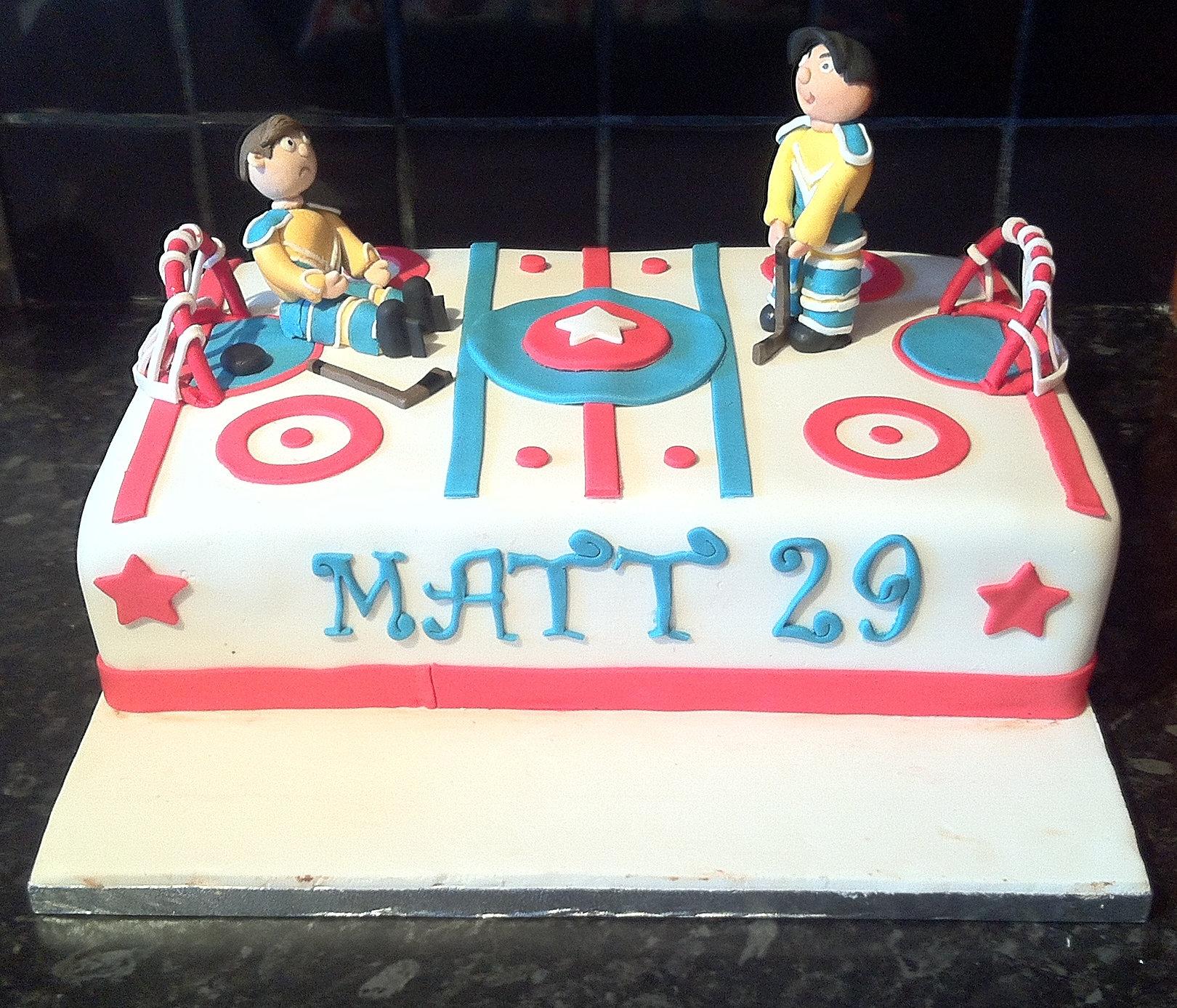 Birthday Cake Hockey Pictures