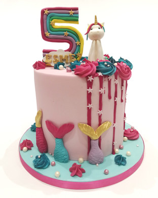 Extra Tall Unicorn Cake