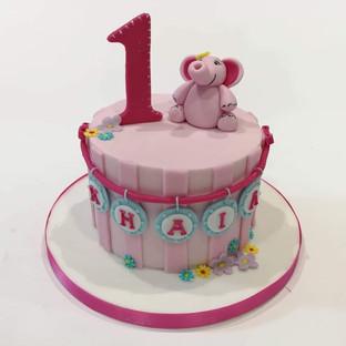 1st Birthday Cake (Elephant)