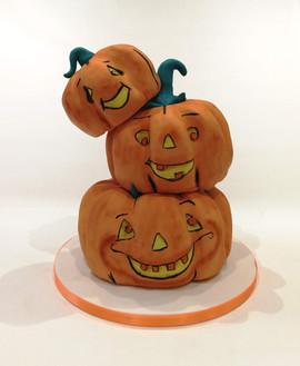 3 Tier Pumpkin Cake