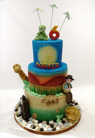 2 Tier Andy's Adventures Cake