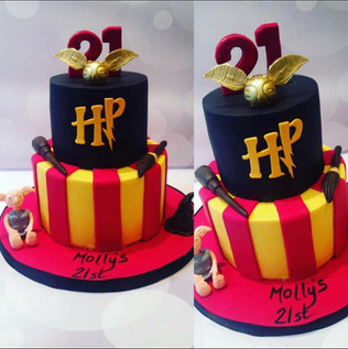 Harry Potter 2 Tier Cake