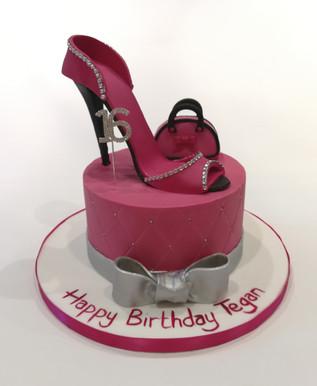 Heels & Bag Cake