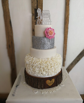 Glitter and Ruffles Wedding Cake.jpg