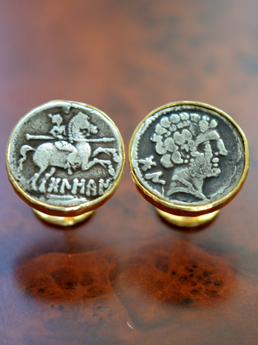Spanish Coin Cufflinks