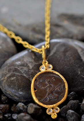 Goddess of Peace Necklace