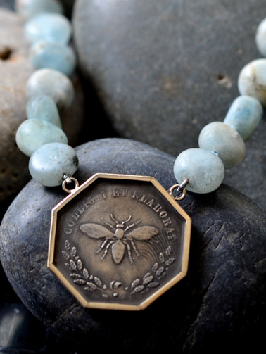 French Bee Necklace