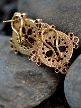 Constantine Ruby Earrings