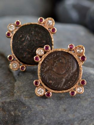 Constantine Ruby Earrings