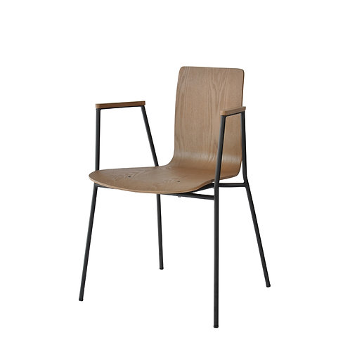 Zeat wooden arm chair (1)