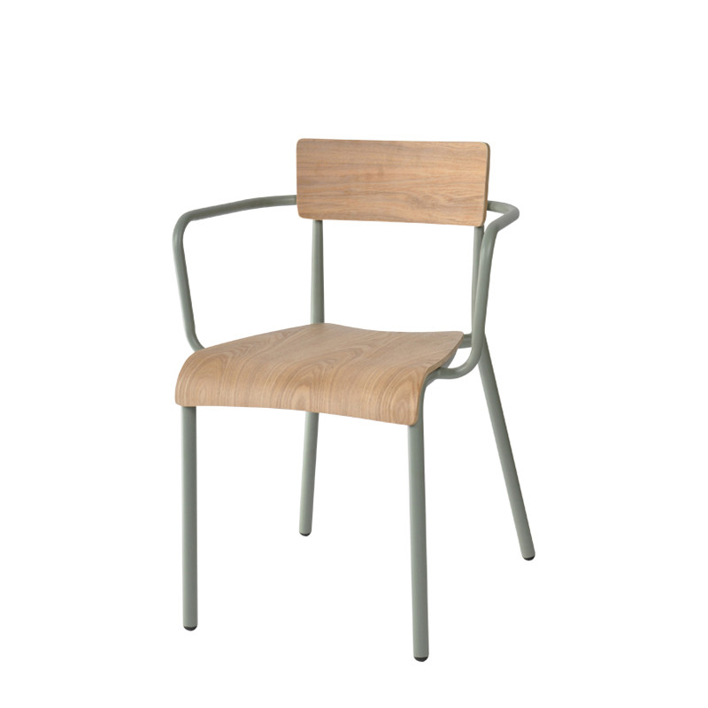 T-arm chair - plywood (1)