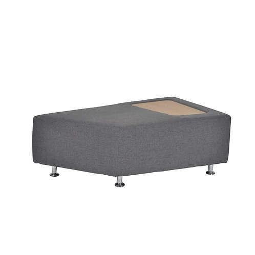 Mosaico medium modular seating with tray (1)