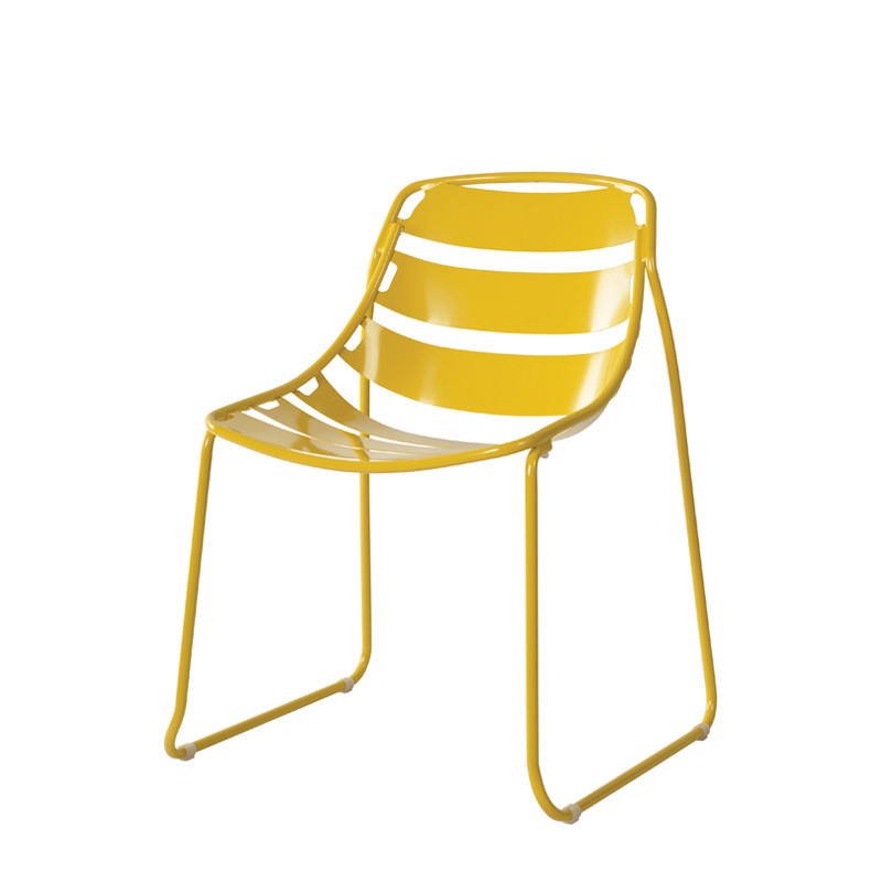 Ellipse chair with sled frame (1)