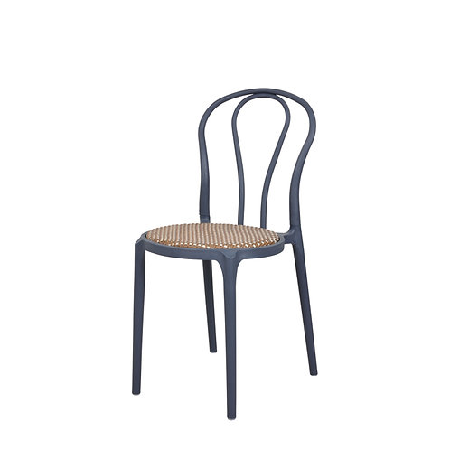 Parker chair with wicker seat (1)