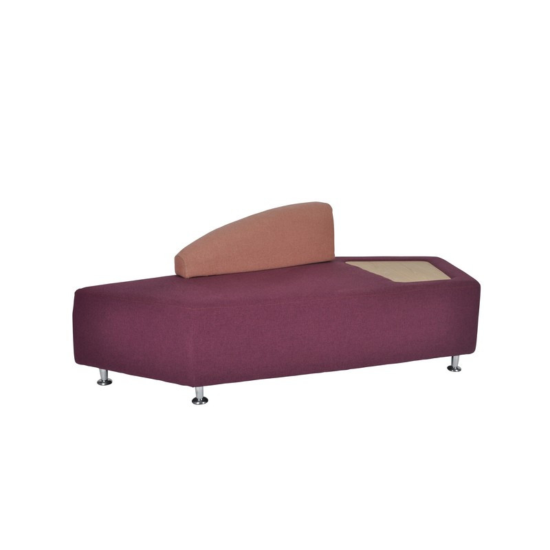 Mosaico large modular seating with backrest and tray (1)