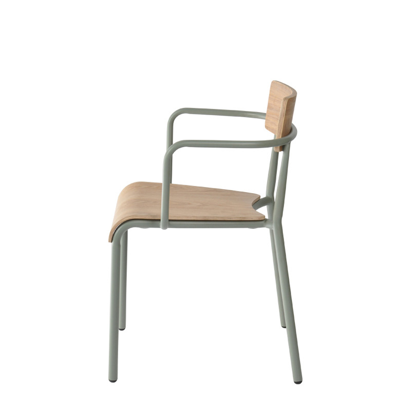 T-arm chair - plywood (3)