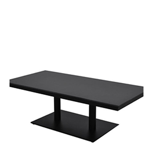 Gradient double shaft coffee table