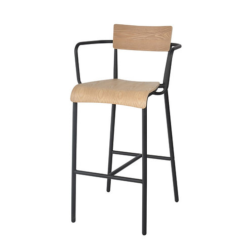 T-arm barstool - plywood (1)