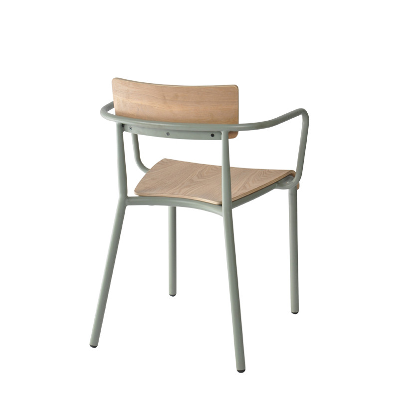T-arm chair - plywood (5)