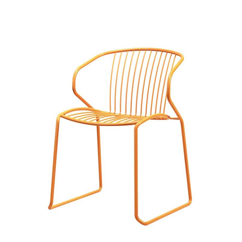Bag chair with sled  leg (1)