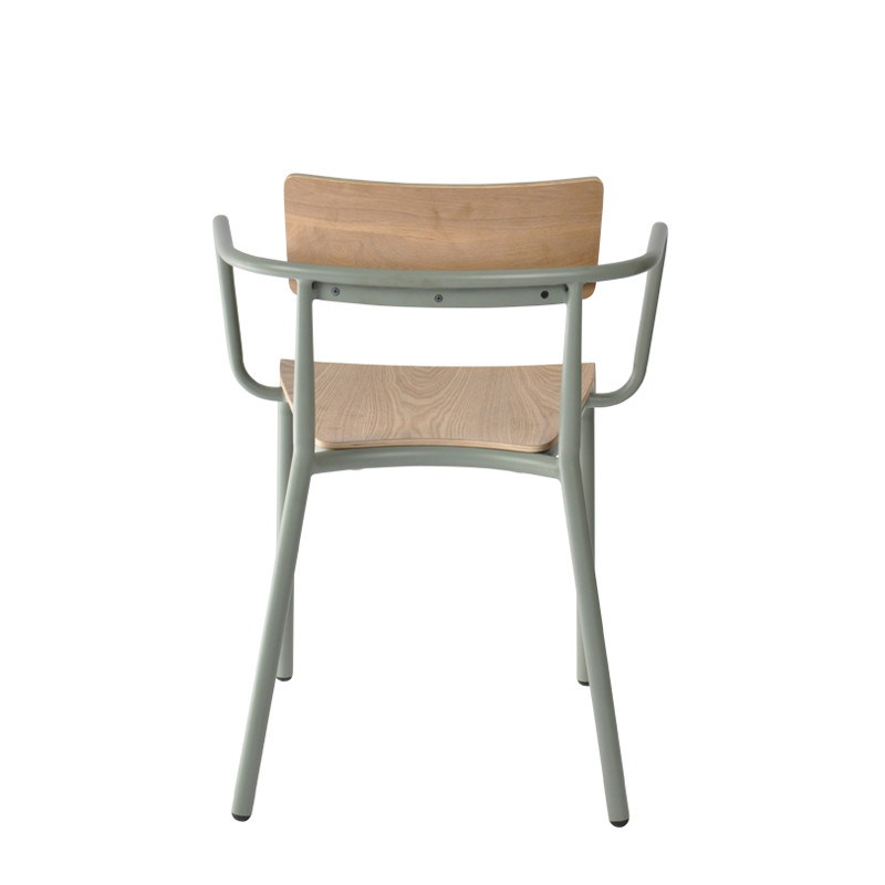 T-arm chair - plywood (4)