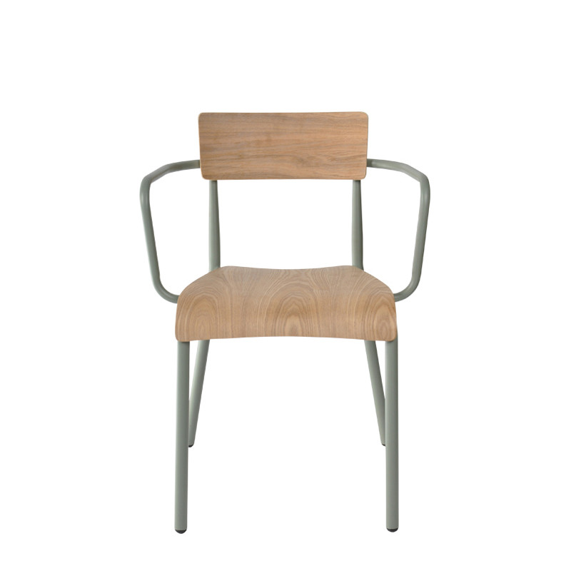 T-arm chair - plywood (2)