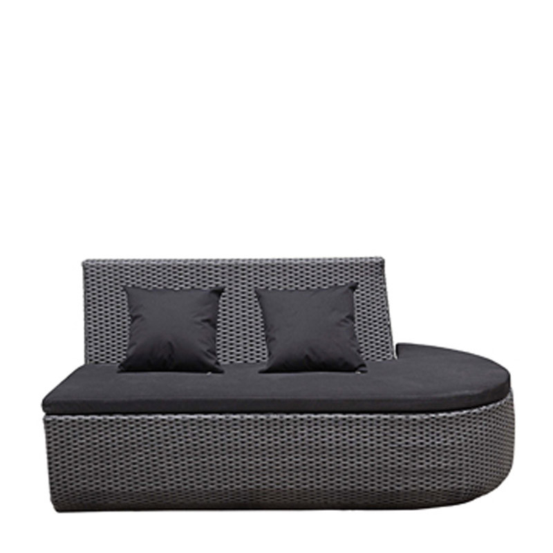 Snake straight end sofa (left/right)