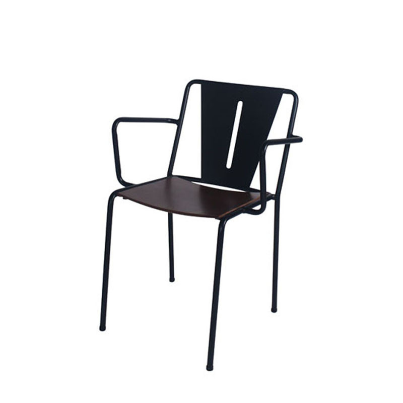 Inicio-V arm chair with bentwood seat (1)