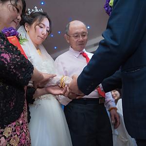 台南婚禮紀錄 家安怡亭天心岩素食餐廳
