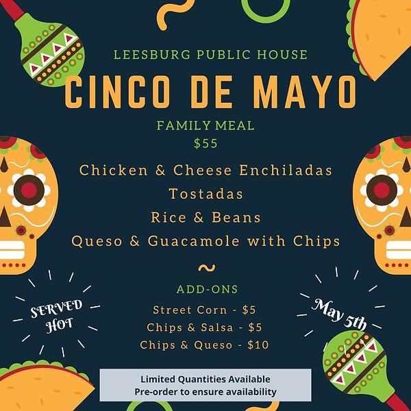 Teal Mexican Cinco De Mayo Instagram Pos