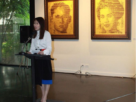 Invited opening remarks and exhibition at The Age of Empathy Exhibition at Pattana Gallery, Rangsit