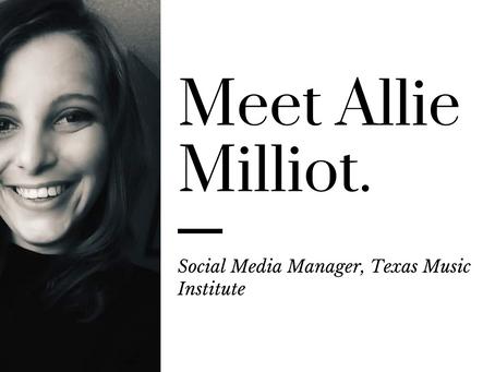Interview: Allie Milliot, Social Media Manager