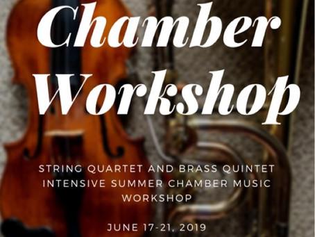 AMS Chamber Workshop 2019