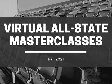 Virtual All-State Masterclasses