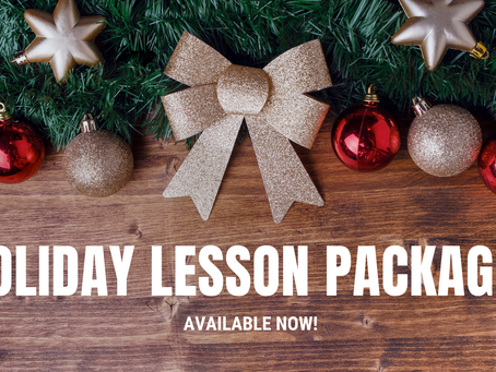 NEW: Holiday Lesson Packages
