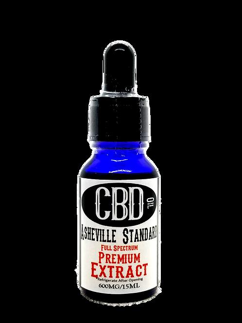 1000 mg/15ML Asheville Standard Premuim Full Spectrum Extract