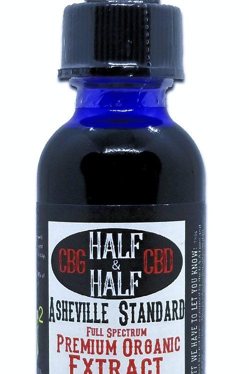 CBD & CBG 1500 mg/30ML Asheville Standard Premium Full Spectrum Extract
